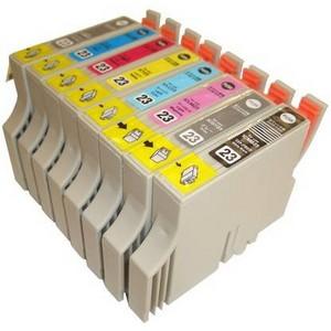 【エプソン(EPSON)対応】IC23-BK/C/M/Y/LC/LM/GY/MB (ICチップ付)互換インクカートリッジ 8色セット 【2セット】 【送料無料】
