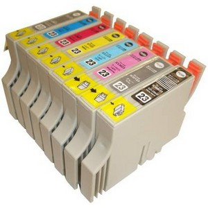 【エプソン(EPSON)対応】IC23-BK/C/M/Y/LC/LM/GY/MB (ICチップ付)互換インクカートリッジ 8色セット 【5セット】 【送料無料】