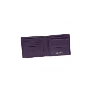 Nicola Ferri(ニコラフェリ) 二つ折り財布(小銭入れ付) GA10053 VIOLET 【送料無料】