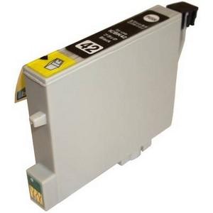 〔エプソン(EPSON)対応〕ICBK42 (ICチップ付)互換インクカートリッジ ブラック 〔10個セット〕 〔送料無料〕