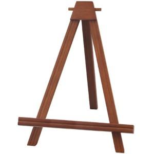 カラー額立て・カラーイーゼル・木製イーゼル ■2202イーゼル S (ブラウン) 〔送料無料〕