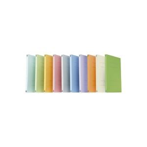 (業務用100セット) プラス フラットファイル/紙バインダー 〔A4/2穴 10冊入り〕 021N オレンジ ×100セット 〔送料無料〕