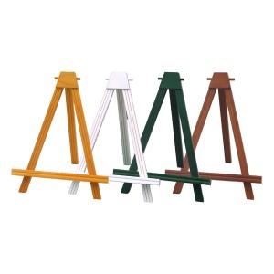 カラー額立て・カラーイーゼル・木製イーゼル ■2202イーゼル M (ブラウン) 〔送料無料〕