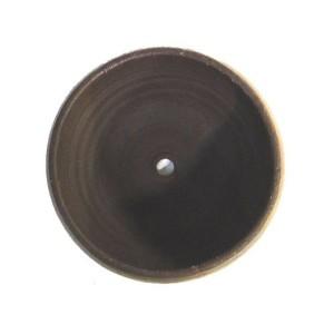 〔2個入〕 タイ製 陶器 植木鉢/プランター 〔直径32cm〕 底穴あり 耐寒仕様 『Cha-Cha 320』 〔園芸 ガーデニング用品〕 〔送料無料〕