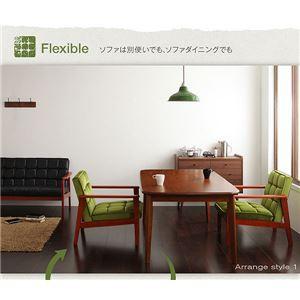 【単品】テーブル ウォールナット【DARNEY】ダーニー/テーブル(W90cm) 【送料無料】