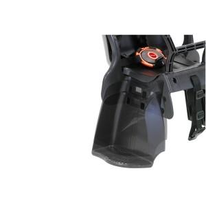 ヘッドレスト付き後ろ用子供乗せ(自転車用チャイルドシート) 【OGK】RBC-015DX ブラック(黒)/ブラウン 【送料無料】