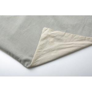 布団カバー 洗える インド綿使用 『コロン(サラン)NSK 敷布団カバー』 グリーン ダブル 145×215cm 〔送料無料〕