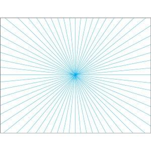 (まとめ)アーテック 一点透視シートB3(10枚組) 〔×5セット〕 〔送料無料〕