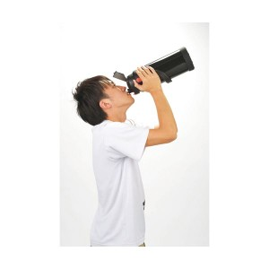 ダブルステンレススポーツジャグ黒 360-01B 〔送料無料〕