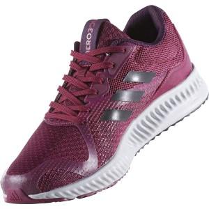 adidas(アディダス) ランニングシューズ BW1571 ミステリールビー×コアブラック×エナジーピンク 24.5cm 【送料無料】