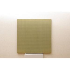 純国産(日本製) ユニット畳 ジョイントマット 『シンプル』 88×88×2.7cm(2枚1セット) 〔送料無料〕