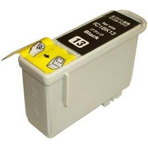 〔エプソン(EPSON)対応〕IC1BK13 (ICチップ付)互換インクカートリッジ ブラック 〔10個セット〕 〔送料無料〕
