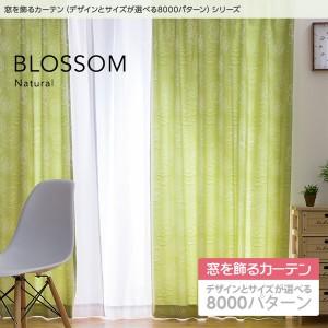 窓を飾るカーテン ナチュラル BLOSSOM(ブロッサム) 遮光2級 形態安定 (MZ) 幅200cm×丈125cm(1枚) ピンク 〔送料無料〕