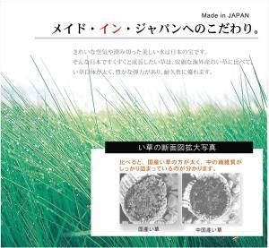 純国産 い草ラグカーペット ふっくらボリューム 『SFマーディ』 ブラック 約191×250cm 〔送料無料〕