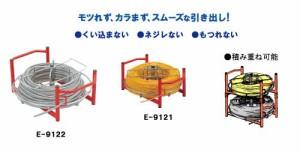 電線リール 〔リール径:φ480mm〕 積み重ね可能 プロメイト E-9122 〔送料無料〕