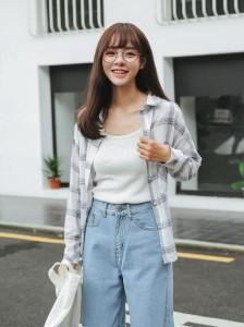natu-loha「さっと羽織って旬顔に☆」大活躍のチェックシャツ☆ 2018 春夏 PTX7546