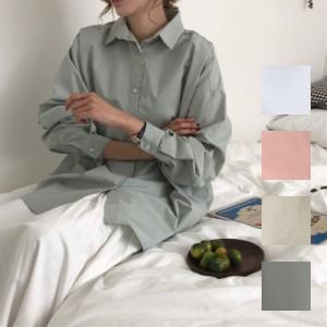 natu-loha「こなれ感溢れる大人女性を演出☆」ビッグシルエットシャツ 2018 春夏 PTX8384