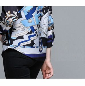 natu-loha「クールに魅せて」シックな配色で大人顔のデザインシャツ 2018 春夏 PTX9051
