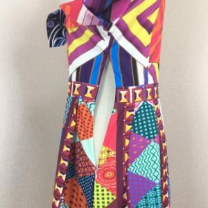 natu-loha「フォトジェニック主義」ユーモラスな柄で遊ぶドレスワンピ 2018 春夏 PTX9052