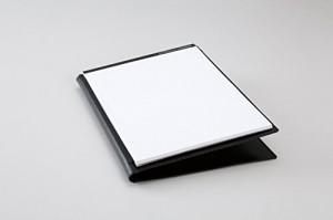 レイメイ藤井 レポートパッド zeitVektor A4 革製 ブラックZVP701B