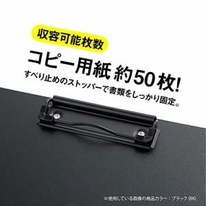 セキセイ クリップボード クリップファイル 発泡美人 A4-E レッド FB-2016