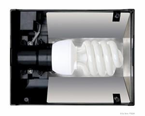 ジェックス エキゾテラ(EXO-TERRA) コンパクトトップ ナノ 1灯式 UV(紫外線)ランプ用照明器具