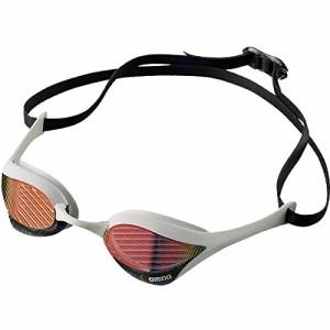 arena(アリーナ) 水泳 ゴーグル グラス  クッションタイプ FINA承認 フリーサイズ AGL-180M レッド×