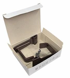 福井金属工芸 釘打ち用 額縁を受ける為の金具 B.S壁用額受 30mm 茶 2320-B