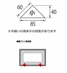 福井金属工芸 額フトン 小 紫色 F-0296
