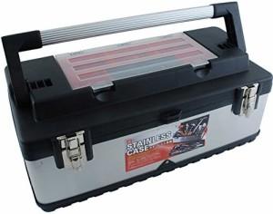 SK11 ステンレス 工具箱 外寸幅585×奥280×高さ255mm SSC-580W
