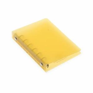 エトランジェディコスタリカ バインダー ミニ 6穴 透明PP 黄色 TRP-08-04
