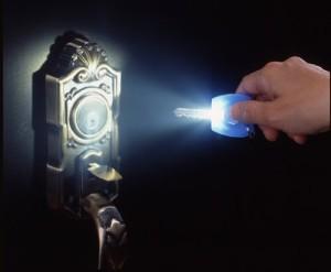 スマイルキッズ(SMILE KIDS) 白い光のかぶせるキーライト クリア AKL-71CL