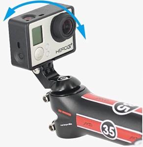 REC-MOUNTS トップキャップマウント タイプ1 Top Cap Mount for GoPro(ゴープロ)HEROシリーズ用 ステム/前