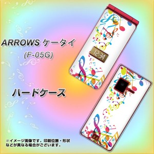 ARROWS ケータイ F-05G ハードケース / カバー【319 音の砂時計 素材クリア】(アローズ ケータイ F-05G/F05G用)