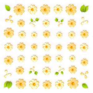 Pieadra ネイルシール フルール レモン 【ネイルアート/ネイルシール/押し花/ドライフラワー/ネイル用品】