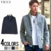 VICCI【ビッチ】ポンチ イタリアンカラー ジャケ...