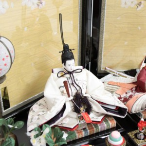雛人形【アウトレット】 親王平飾り【押し花】[193to1033]祥秀 雛祭り