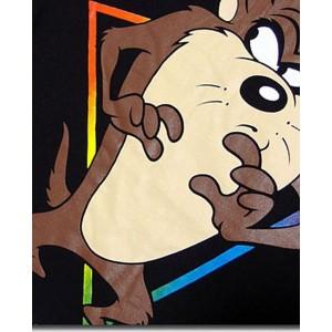 キャラクター 人気アメコミ メンズ プリント : 「ルーニー・テューンズ」 半袖 タスマニアンデビル Tシャツ のタスマニアンデビルプリントTシャツ! ルーニーテューンズ