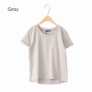 半袖 Tシャツ カットソー トップス レディースファッション 袖ロールアップ エンビデザイン ベーシックサラッと 薄手素材感 心地よい