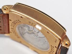ロジェ・デュブイ ゴールデンスクエア G34-98-5-SD ダイヤ シェル 18K RG ローズゴールド メンズ 手巻き 男 時計