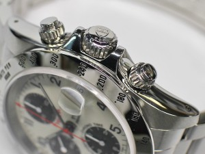 【TUDOR】チュードル クロノタイム タイガー 79280 B番 保付 ホワイト パンダ【OH済】【中古】男 時計