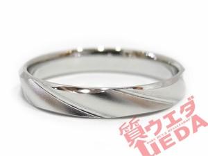 【ウエダセール】【renoma】レノマ リング Pt900 プラチナ 指輪 シンプル ♯17号 エンゲージ 新品仕上げ済 ジュエリー その他