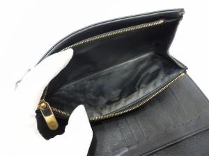 LOUIS VUITTON ルイヴィトン マヒナ ポルトフォイユアメリア 黒 M95549 長財布 財布