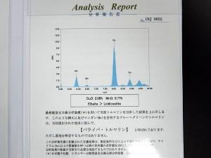 ネックレス パライバトルマリン 0.28ct ダイヤ 0.30ct Pt850 Pt900 40cm 11.4g 分析報告書付き鑑別書 ジュエリー 高級