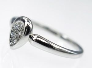 VENDOME AOYAMA ヴァンドーム青山 ダイヤモンド 7P リング Pt950 プラチナ 11号 3.9g 仕上げ済 ジュエリー 高級