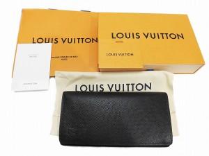 【LOUIS VUITTON】ルイヴィトン/ポルトフォイユブラザ/M30501/タイガ/ノワール【新品】【未使用】