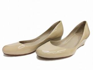 【COLE HAAN】コールハーン 婦人靴 7B 約25cm ダークベージュ NIKE AIR アパレル 女【中古】