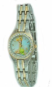 【当店1年保証】ディズニーDisney Princess Fairy Tinkerbell Tow Tone Metal Watch