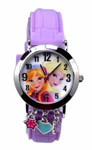【当店1年保証】ディズニーDisney Frozen Analog Watch with Charms
