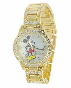 【当店1年保証】ディズニーDisney Mickey Mouse Large Face Watch, Comic Strip Printed Strap